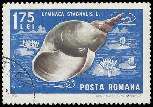 Romania #1885 1966 CTO Creases