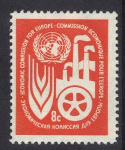 United Nations New York 1959 MNH economic commission 8c  #