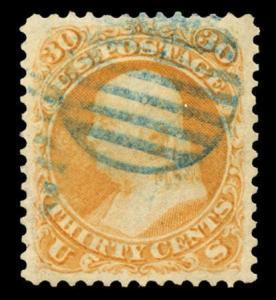 momen: US Stamps #71 Used SUPERB Jumbo