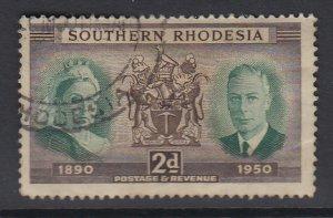 SOUTHERN RHODESIA, Scott 73, used