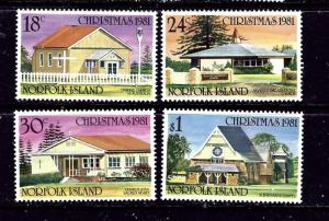 Norfolk Is 283-86 MNH 1981 Christmas