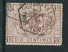 Belgium #Q1 Used  (box1)