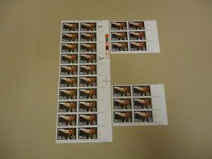 USPS Scott 2380 25c 1988 Olympics Stamps Lot of 3 Plate B...