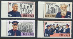 Isle of Man - SG 228-231  SC# 240-243 MUH  Salvation Army