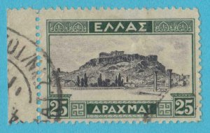 GREECE 371 USED  NO FAULTS VERY FINE !