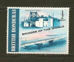 British Honduras 287 Bridge MNH