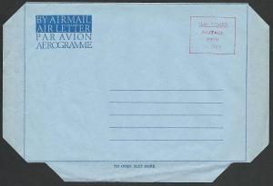 YEMEN POSTAGE PAID 70 Fils provisional airletter - aerogramme unused.......49240