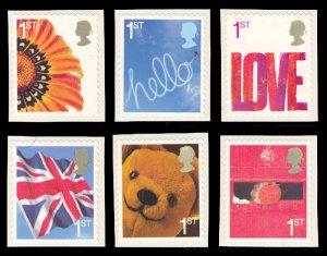 Great Britain 2005 Scott #2314-2319 Mint Never Hinged