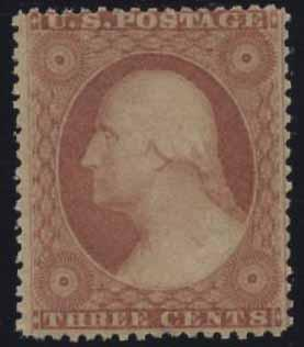 US Scott #26 Mint, F, Never Hinged