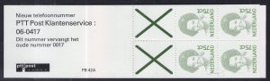Netherlands 773a Booklet MNH VF