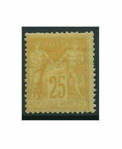 [M02] France / 1878, Allegories, MH, Michel No. 74(?) ($650)