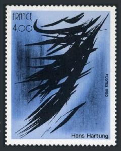 France 1694,MNH.Michel 2234. Art 1980.Abstract,by Hans Hartung.