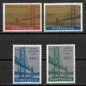 1960 Portugal 976-9 Salazar Bridge C/S MNH