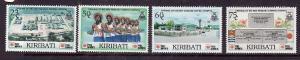 Kiribati-Sc#573-6-Unused NH set-New Tungaru Hospital-1991-
