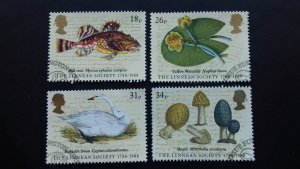 Great Britain 1988 The 200th Anniversary of the Linnean Society of London Used