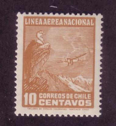 Chile Sc. # C23 MNH Airplanes