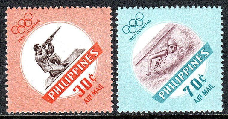 Philippines MNH C85-6 Olympics 1960