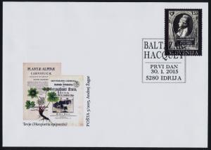 Slovenia 1111 on FDC - Balthazar Hacquet, Scientist