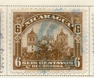 Nicaragua 1928 Early Issue Fine Used 6c. 323669