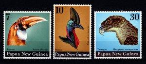 Papua New Guinea 1974 Birds' Heads Set [Unused]