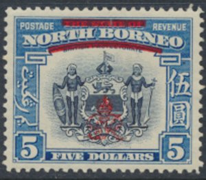 North Borneo  SG 349 SC# 237 MH    OPT GR Crown - See scans