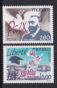 Monaco  #1944-1945    MNH  1995  Europa