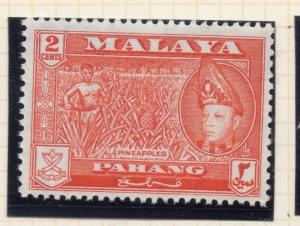 Penang Malaya 1957 Early Issue Fine Mint Hinged 2c. 029749
