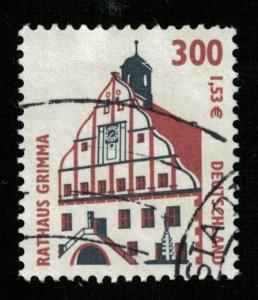 Deutscheland, Rathaus Grimma, 300 Pf, 1.53Є, Germany, (T-6237)