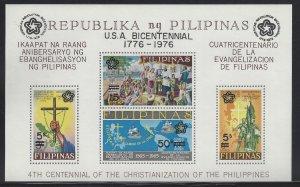 C108 USA Bicentennial/Christianization (Black Overprint) CV$3