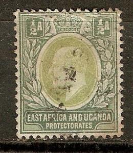 East Africa & Uganda 1 SG 1 Used F/VF 1904 SCV $17.00