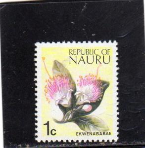 Nauru Flowers MNH
