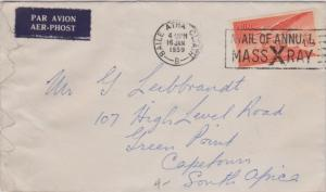 Ireland 1/3 Angel Over Caiseal 1959 Baile Atha Cliath Avail Of Annual Mass X ...