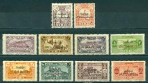 Alexandretta #1-10 Part Set  Mint F-VF H  Scott $66.75