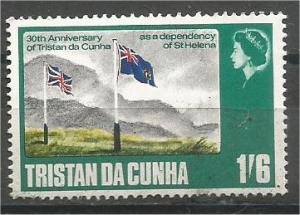 TRISTAN DA CUNHA, 1968, MNH 1sh6p, Dependency of St.Helena Scott 122