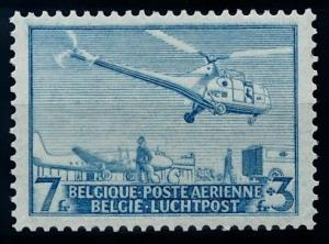 [69108] Belgium 1950 Airmail Helicopter Post Flight  MNH