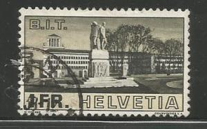 SWITZERLAND 241 USED, LABOR BUILDING, PALACE OF LEAGUE OF NATIONS, 1938