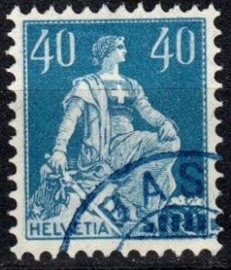 Switzerland #137a F-VF Used CV $3.00 (X673)