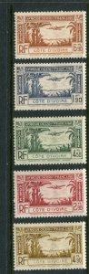 Ivory Coast #C1-5 Mint