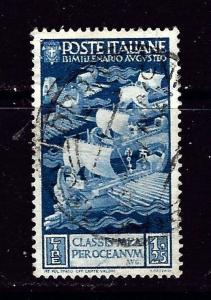 Italy 384 Used 1937 Ancient Ships