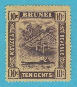 BRUNEI 28 MINT HINGED OG *  NO FAULTS VERY  FINE !