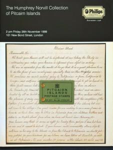 Auction Catalogue HUMPHREY NORVILL PITCAIRN ISLANDS