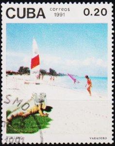 Cuba. 1991 20c S.G.3646 Fine Used