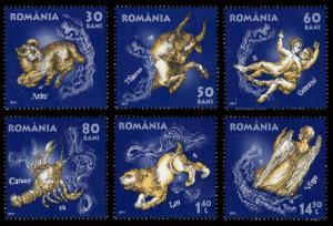 Romania 2011 Scott #5263-5268 Mint Never Hinged