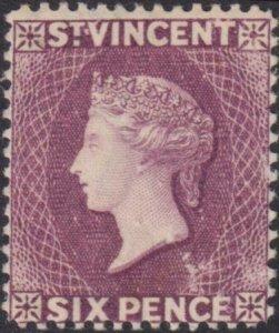 St Vincent 1883 SC 51 Mint