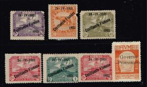 ITALY STAMPS COLLECTION LOT #T4  FIUME
