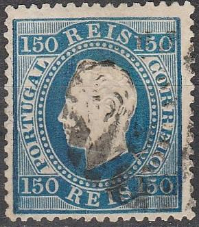 Portugal #47 F-VF Used CV  $110.00  (A16440)