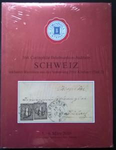 Auction catalogue SCHWEIZ RARITATEN Fritz Kirchner