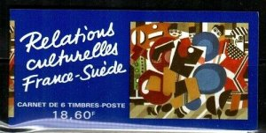 France Scott 2415a Mint NH booklet (Catalog Value $25.00)