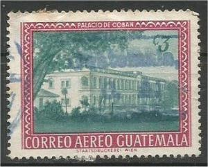 GUATEMALA, 1964, used 3c, Coban Scott C275