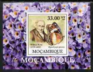 Mozambique 2009 BUTTERFLIES William Kirby Deluxe s/s Mint (NH) #2